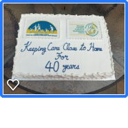 2019 40th Anniversary of Regional Perinatal Outreach Program cake
