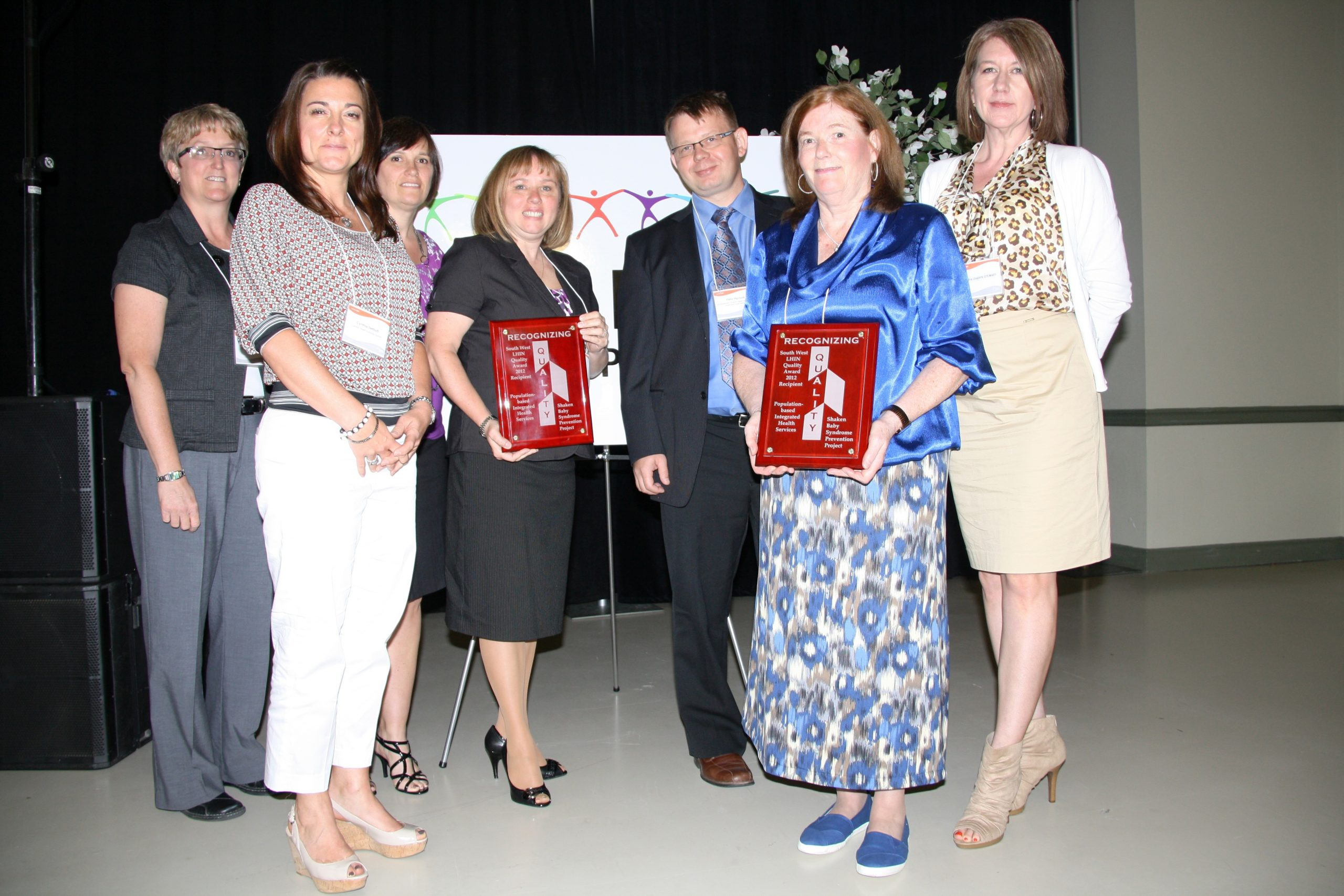 SW LHIN Quality Award Presentation Award Group 1 (2012) to Shaken Baby Syndrome Prevention Project