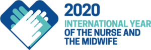 2020 International Year of the Nurse and the Midwife logo_english-iytnm-logo