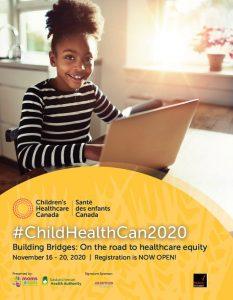 2020 Children's Healthcare Canada conference preliminary program cover