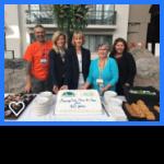2019 40th Anniversary of Regional Perinatal Outreach Program cake cutting